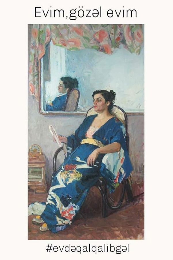 Мой прекрасный дом - герои картин азербайджанских художников (ФОТО) - Gallery Image