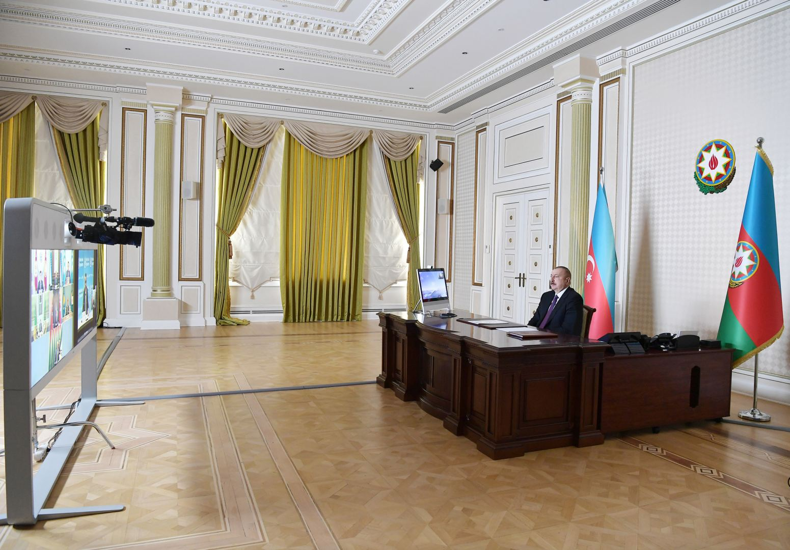 President Ilham Aliyev:  Azerbaijan has taken prompt and proactive steps to prevent spread of coronavirus
