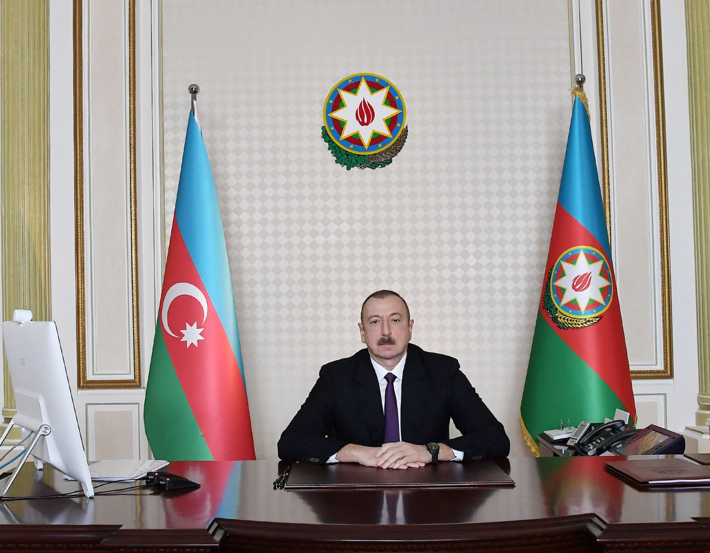 Extraordinary Summit of Turkic Council held through videoconferencing on initiative of President Ilham Aliyev (PHOTO/VIDEO) - Gallery Image