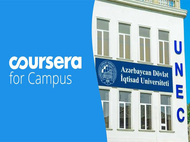 """Students of UNEC show high activity in """"Coursera for Campus"""""""