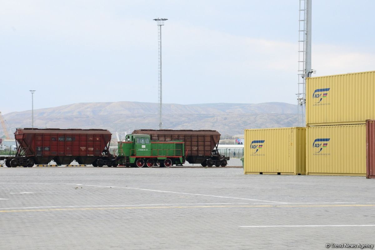 Azerbaijan's АDY Container LLC reveals data on cargo traffic via Central Asia