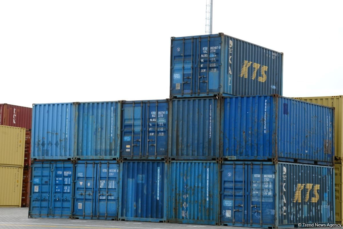 Number of containers shipped by MSC Georgia transport company up