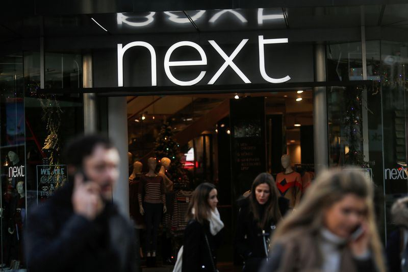 British clothing retailer Next to reopen online business