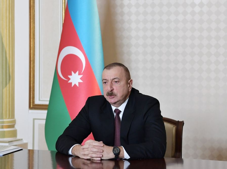 """President Ilham Aliyev: Reaction of entire int'l community to far-fetched """"elections"""" in so-called """"Nagorno-Karabakh republic"""" further strengthens our position"""