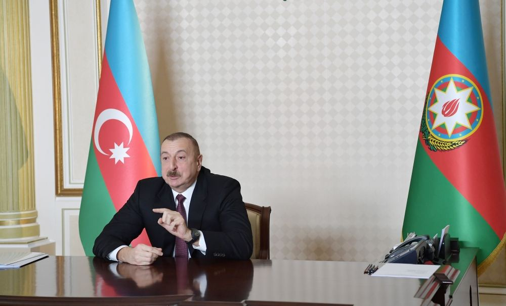 President Ilham Aliyev: Our ill-wishers, internal and external anti-Azerbaijani forces are spreading rumors, trying to mislead people, to sow panic among them
