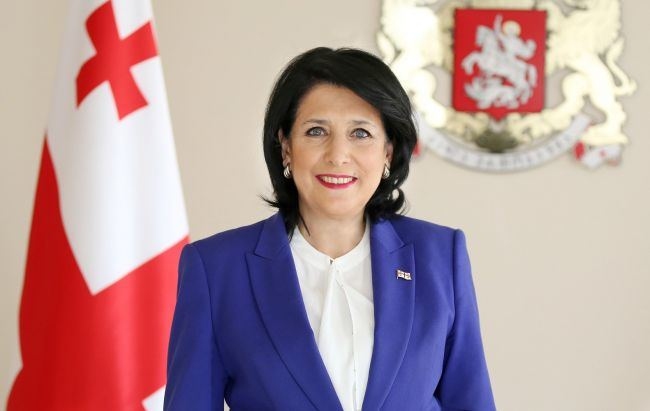 Georgian president thanks Azerbaijan for solidarity
