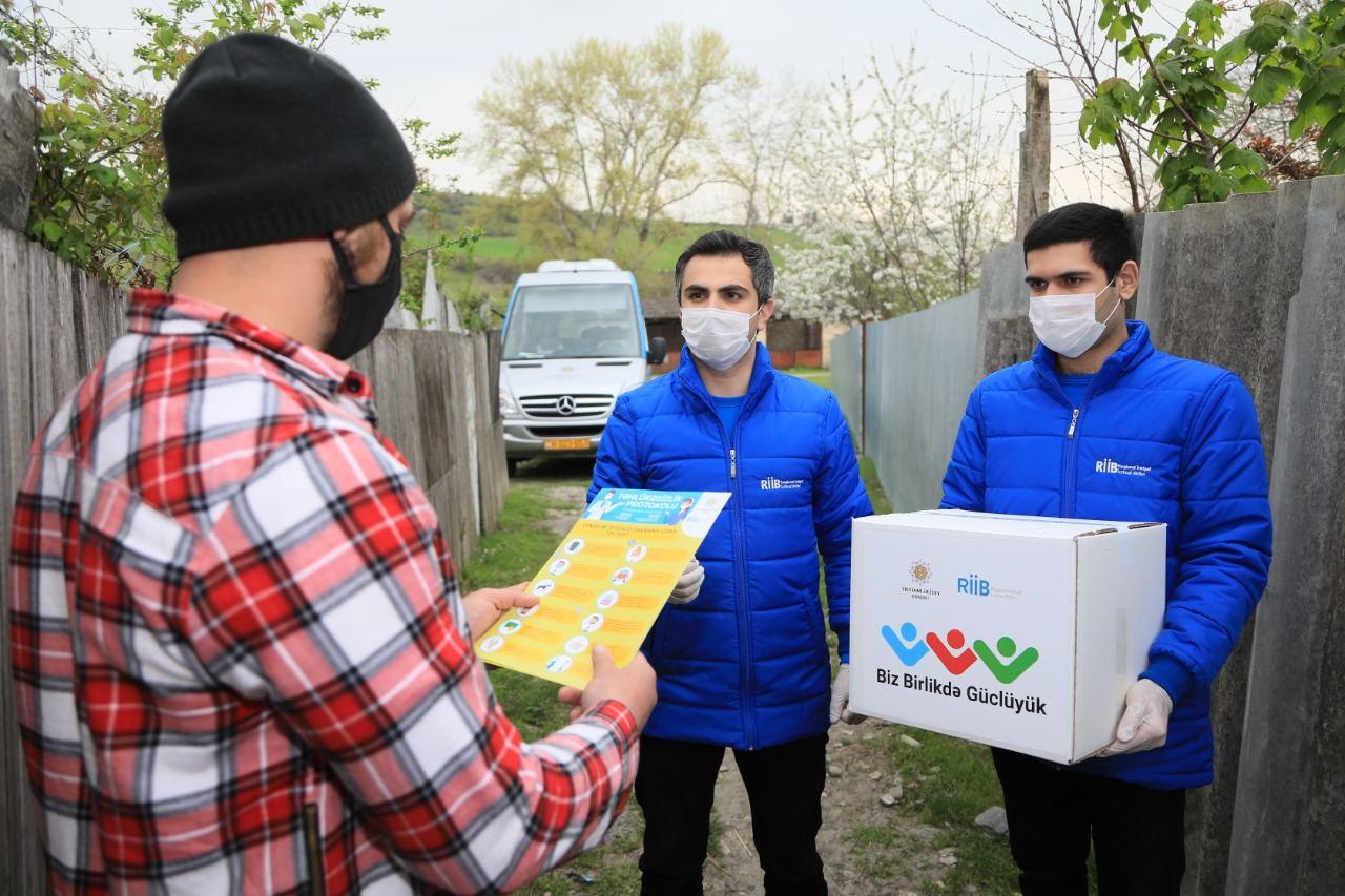 """Heydər Əliyev Fondunun """"Biz birlikdə güclüyük"""" aksiyası davam edir (FOTO/VİDEO) - Gallery Image"""