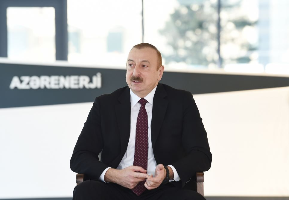 President Ilham Aliyev: Azerbaijan ranks second in the world in terms of accessibility of electricity