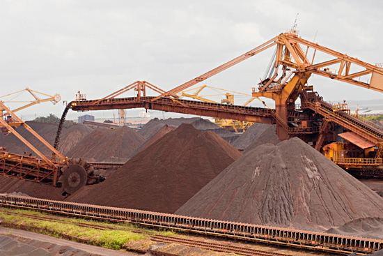 Медные руды и концентрат лидируют в экспорте Грузии