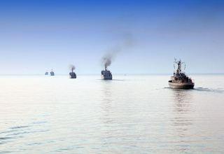 Hərbi Dəniz Qüvvələrində taktiki təlim başlayıb - (FOTO/VİDEO)