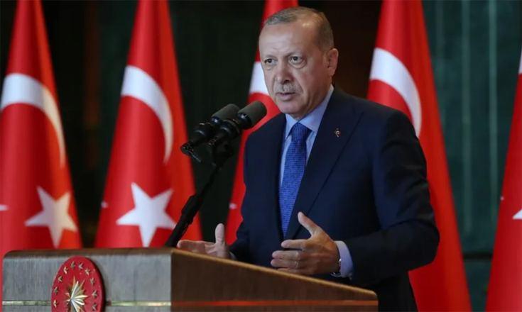 Turkish president orders 3-day lockdown to curb COVID-19 spread
