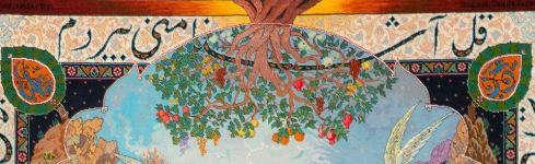 Любовь Лейли и Меджнуна, сотканная на ковре (ФОТО) - Gallery Thumbnail