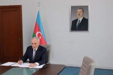 Health ministers of Turkic Council states talk over decision regarding COVID-19 (PHOTO) - Gallery Thumbnail