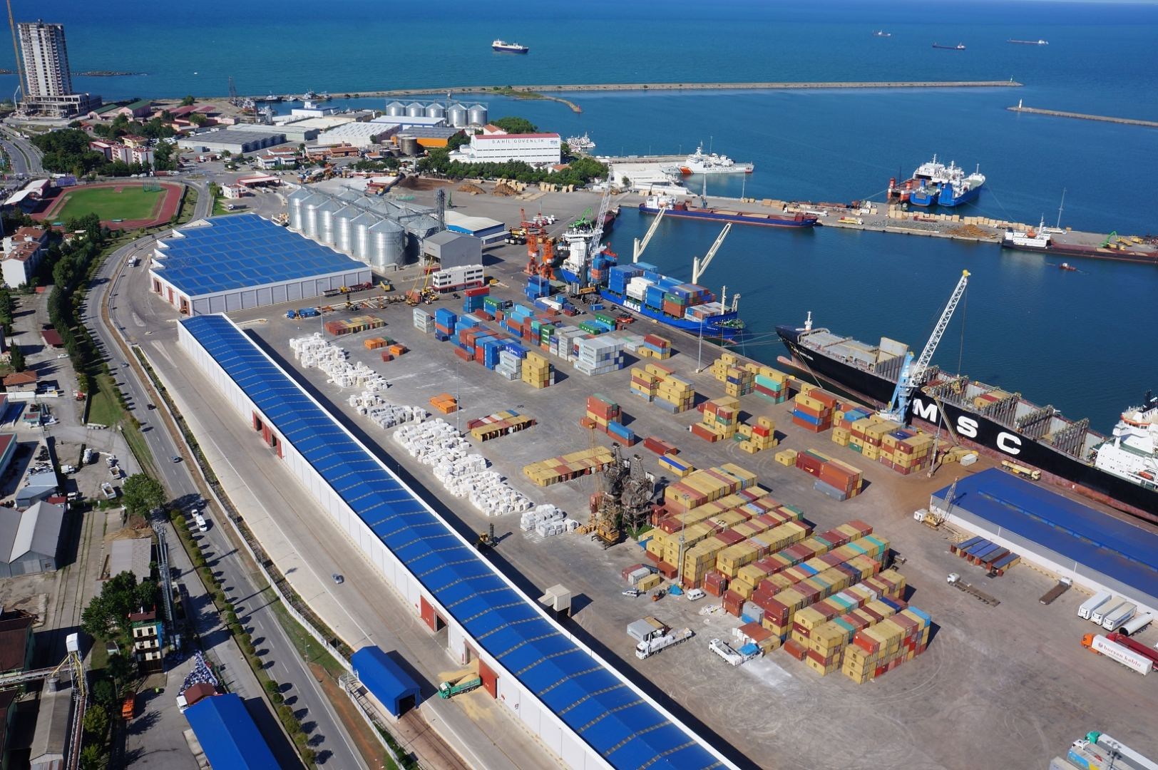 Turkey reveals Samsun port-received ships for 2M2021