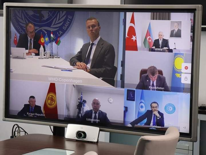Health ministers of Turkic Council states talk over decision regarding COVID-19 (PHOTO) - Gallery Image