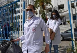 Tunisia reports 5 new confirmed COVID-19 cases, 980 in total