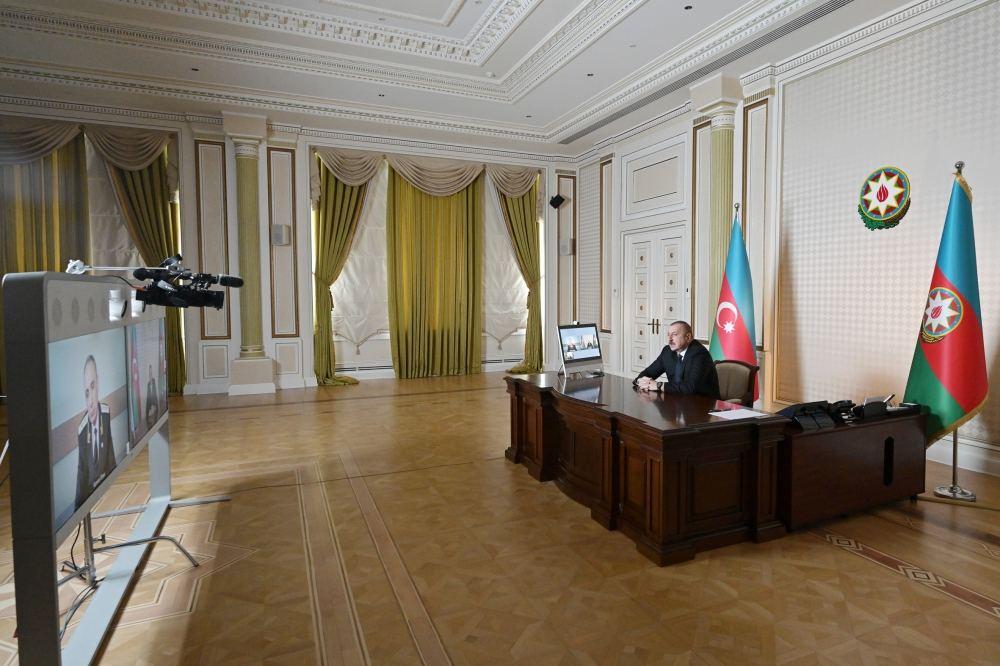 Azərbaycan Prezidenti İlham Əliyev Baş prokuror Kamran Əliyevi videoformatda qəbul edib (FOTO) - Gallery Image