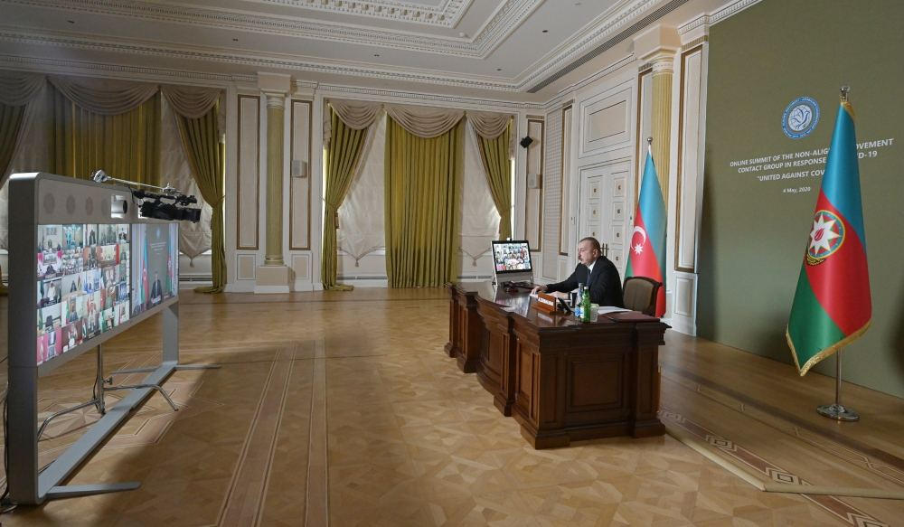 Initiated by President Ilham Aliyev, Non-Aligned Movement Summit held in format of Contact Group (PHOTO)