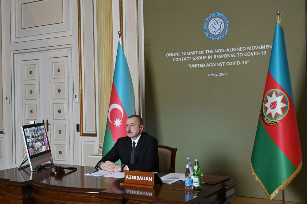 Initiated by President Ilham Aliyev, Non-Aligned Movement Summit held in format of Contact Group (PHOTO) - Gallery Image