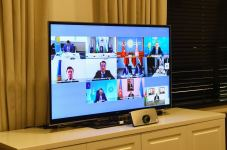 Azerbaijan's economy minister attends Turkic Council's videoconference (PHOTO) (UPDATE) - Gallery Thumbnail