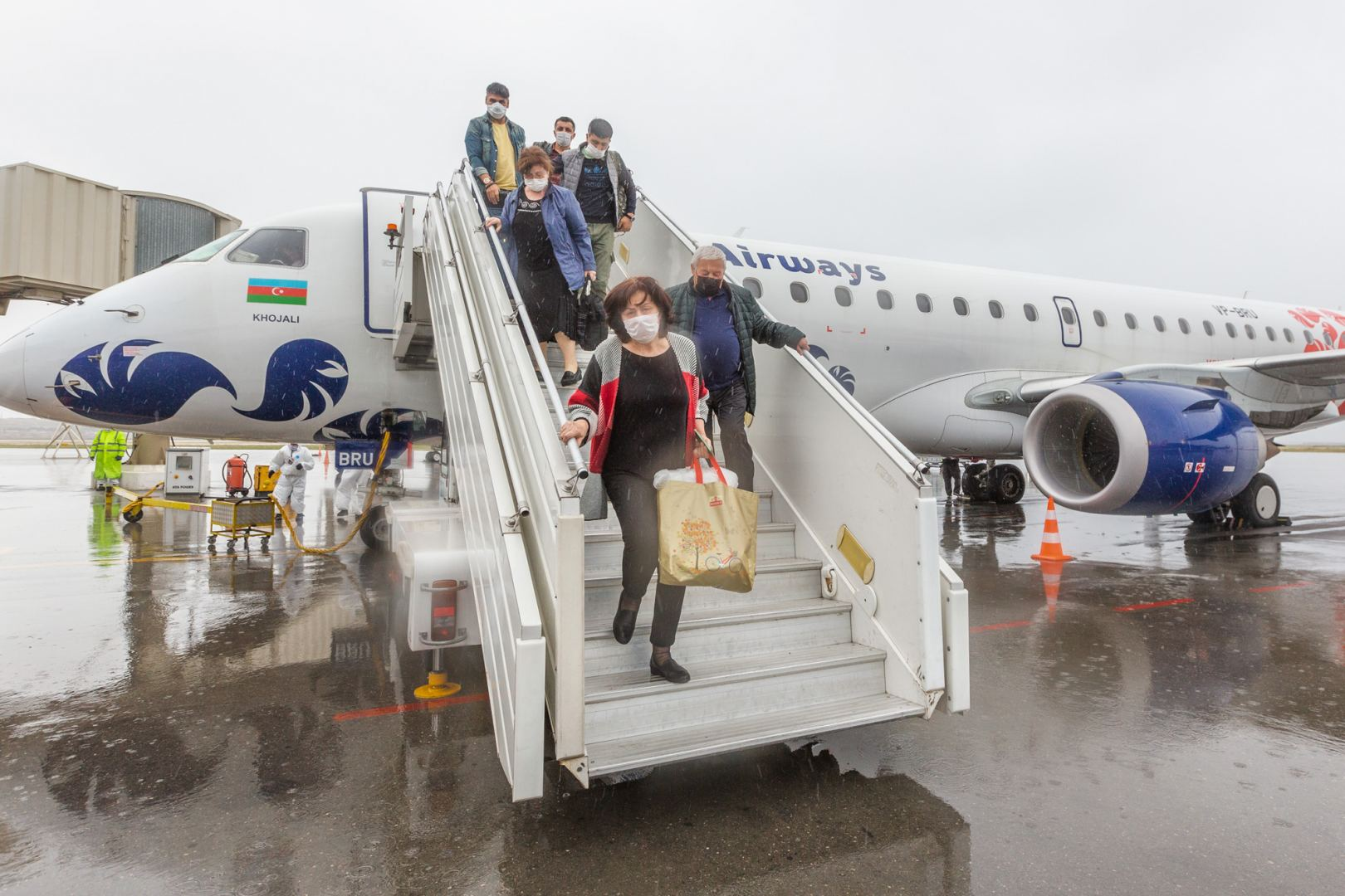 AZAL discloses number of Azerbaijani citizens returned to Baku via two charter flights from Istanbul (PHOTO) - Gallery Image