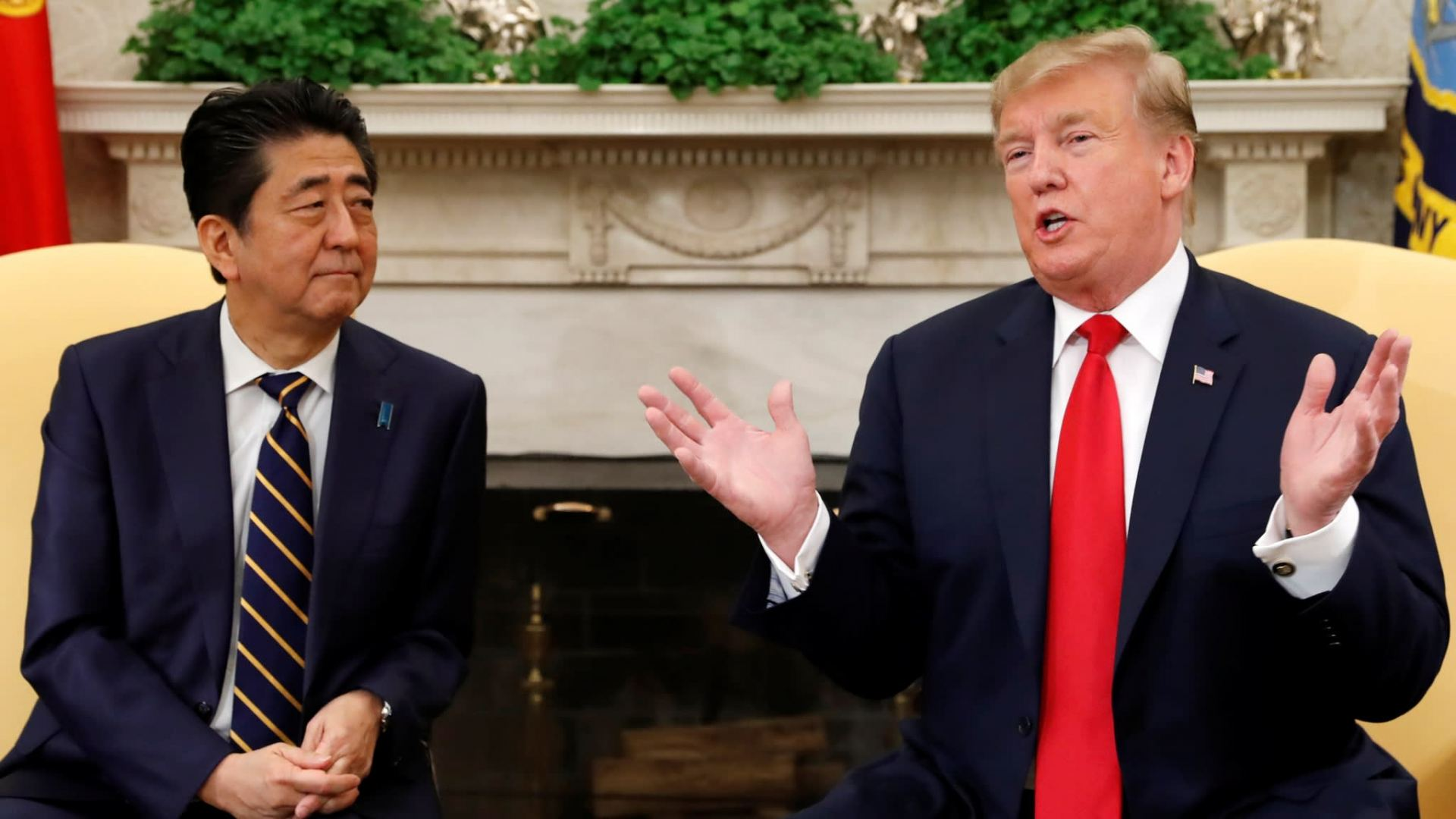 Abe, Trump agree to cooperate on steps to fight coronavirus
