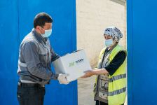 Norm Cement provided food assistance to low-income families living in Garadagh (PHOTO) - Gallery Thumbnail