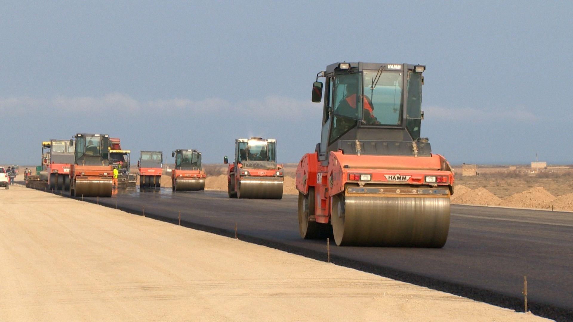 Начался ремонт автотрассы Баку - Губа