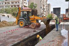 В Баку обновляется инфраструктура водоснабжения и канализации (ФОТО) - Gallery Thumbnail