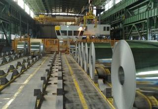 Plant of Iran's South Kaveh Steel Company launched