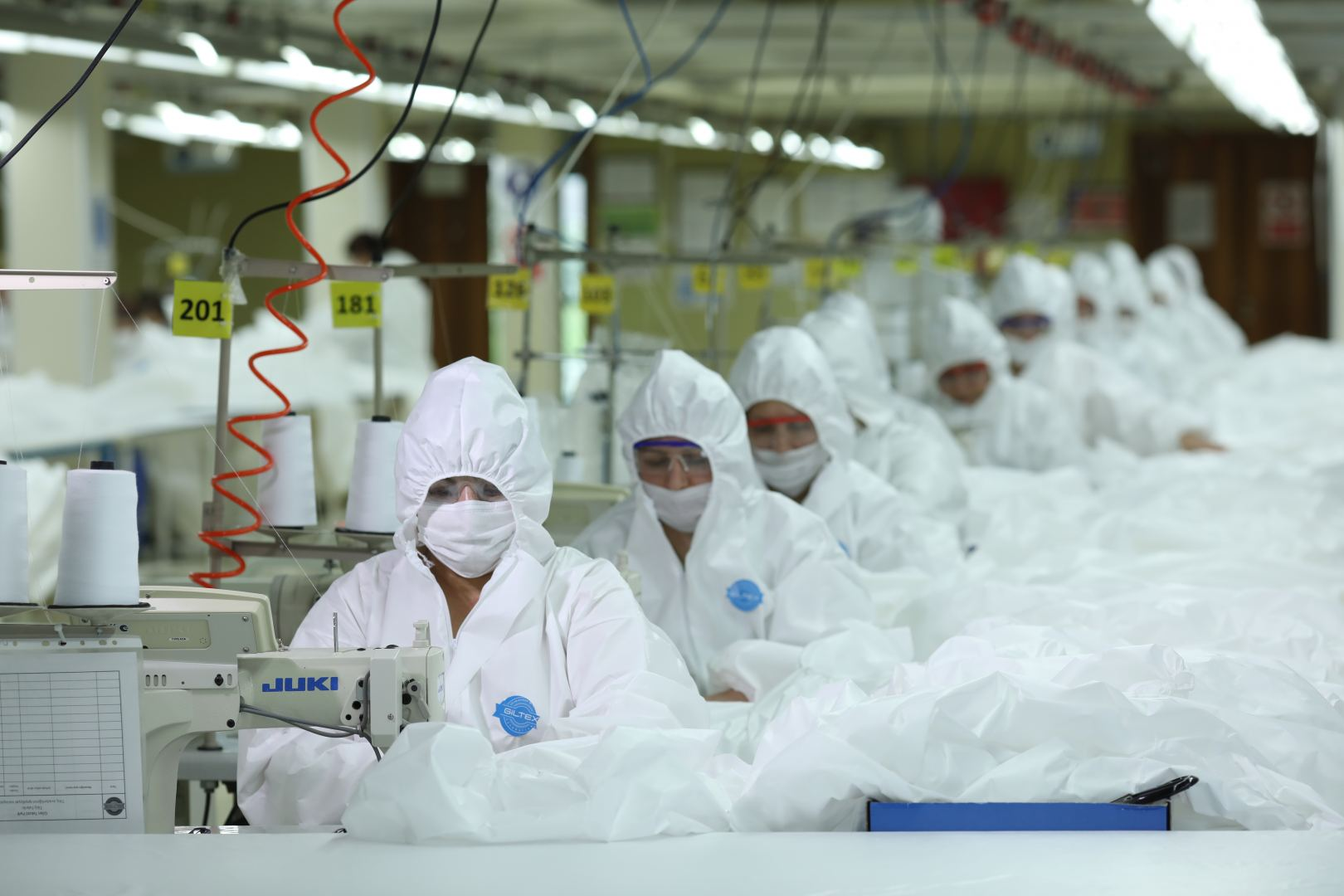Azerbaijan's textile factory reveals daily production volume of medical masks (PHOTO) - Gallery Image