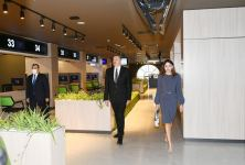 President Ilham Aliyev and first lady Mehriban Aliyeva attend opening of DOST center No3 (PHOTO/VIDEO) - Gallery Thumbnail