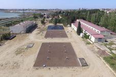 На Джейранбатанском водохранилище проводятся работы по реконструкции (ФОТО) - Gallery Thumbnail