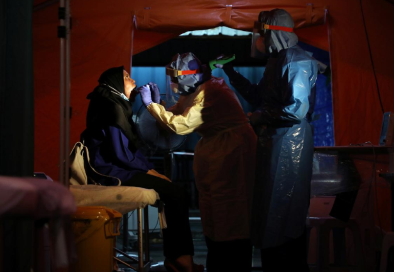 Malaysia reports 172 new coronavirus cases, most of them foreigners