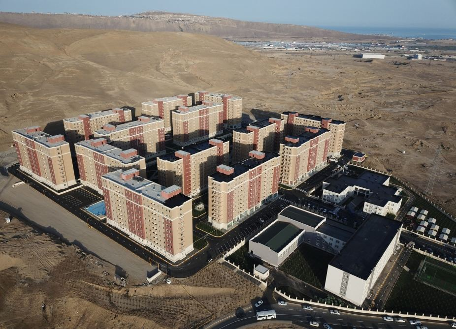Azerbaijani president, first lady inaugurate Gobu Park-3 residential complex for IDPs (PHOTO) - Gallery Image
