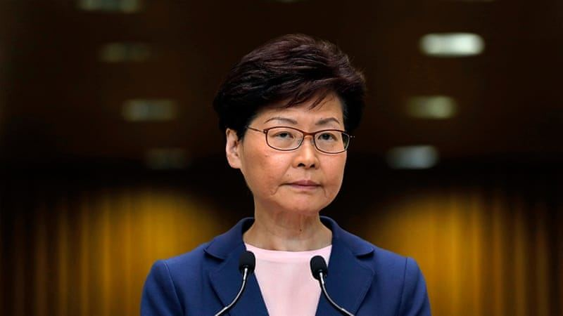 Hong Kong leader says city cannot tolerate any more 'chaos'