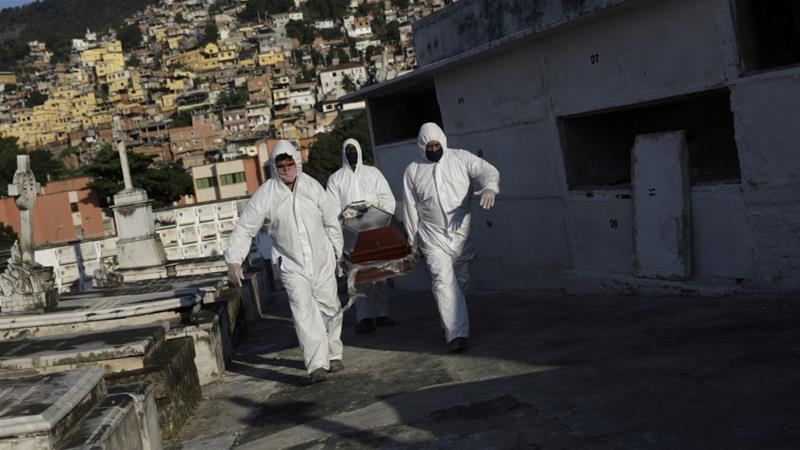 Brazil's single-day COVID-19 deaths top 1,200