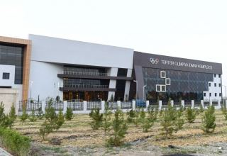 Azerbaijani president attends opening of Tartar Olympic Sports Complex