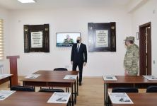 Azerbaijani president visits military unit in Aghdam (PHOTO/VIDEO) - Gallery Thumbnail