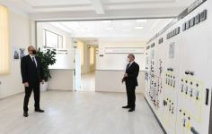 Azerbaijani president launches newly renovated 'Tartar' power substation (PHOTO/VIDEO) - Gallery Thumbnail