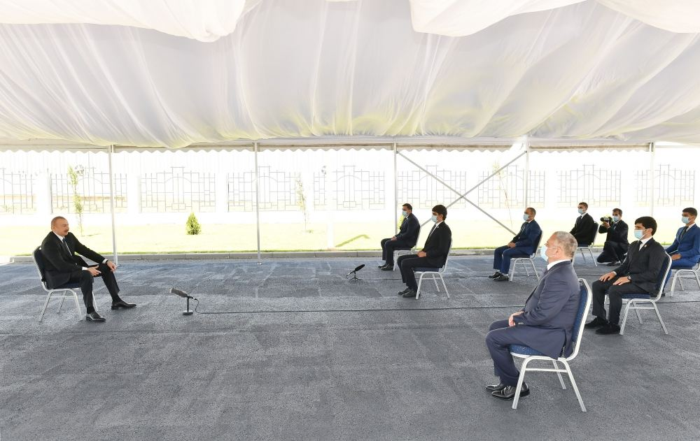Состоялось открытие Тертерского Олимпийского спортивного комплекса (ФОТО/ВИДЕО) (версия 2) - Gallery Image