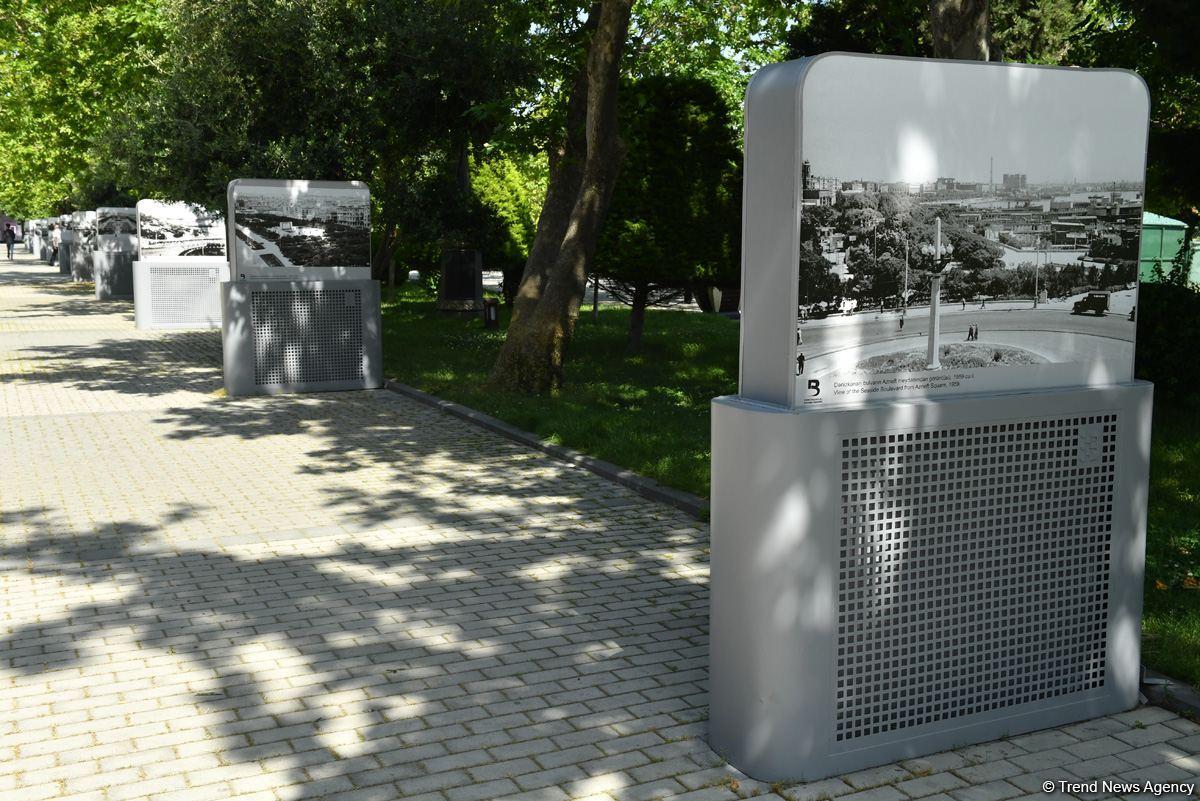 Exhibition of historical Baku photos opens on Baku boulevard (PHOTO) - Gallery Image