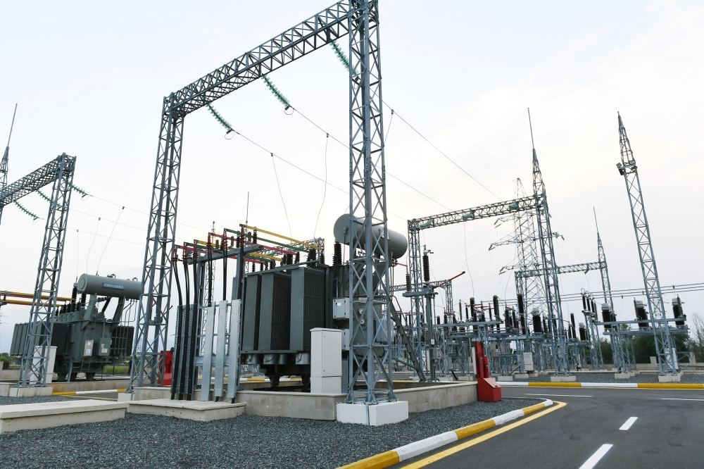 Azerbaijani president launches newly renovated 'Tartar' power substation (PHOTO/VIDEO) - Gallery Image