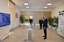 """Azerbaijani president attends ceremony to launch newly renovated """"Aghjabadi-2"""" power substation (PHOTO/VIDEO) - Gallery Thumbnail"""