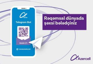 "Azercell ""Telegram Bot"" – your new guide in digital world!"