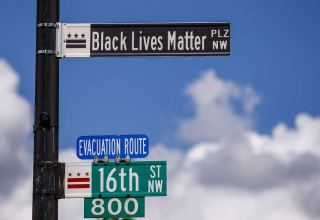 Street near White House renamed 'Black Lives Matter Plaza' — mayor