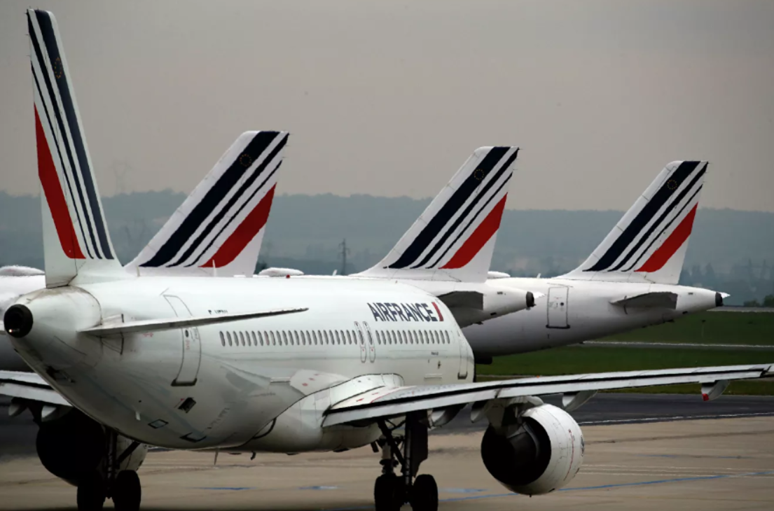 Air France flight brings over 170 passengers from Paris to Georgian Tbilisi