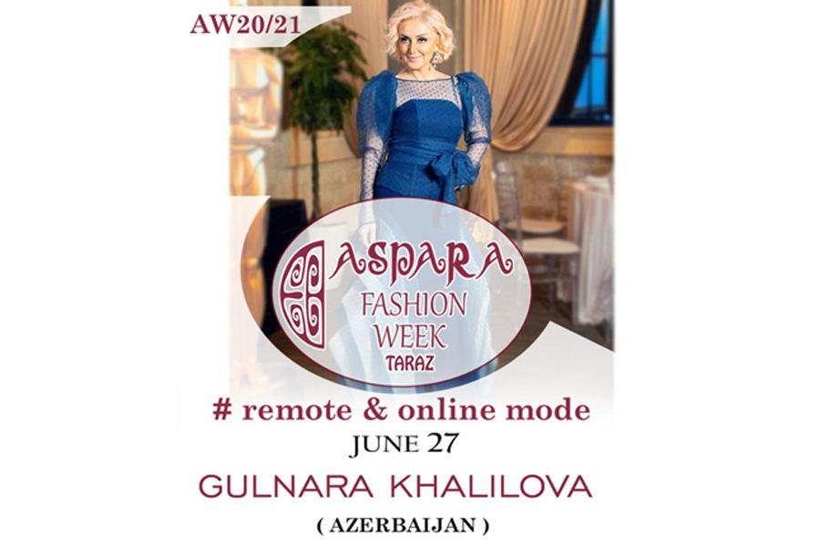 Гюльнара Халилова представит Азербайджан на Aspara Fashion Week (ФОТО)