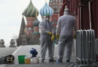 Moscow's death toll from confirmed COVID-19 cases rises by 66