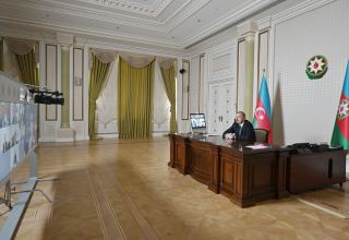 Video conference held between Azerbaijani president, WB's newly appointed VP (PHOTO)